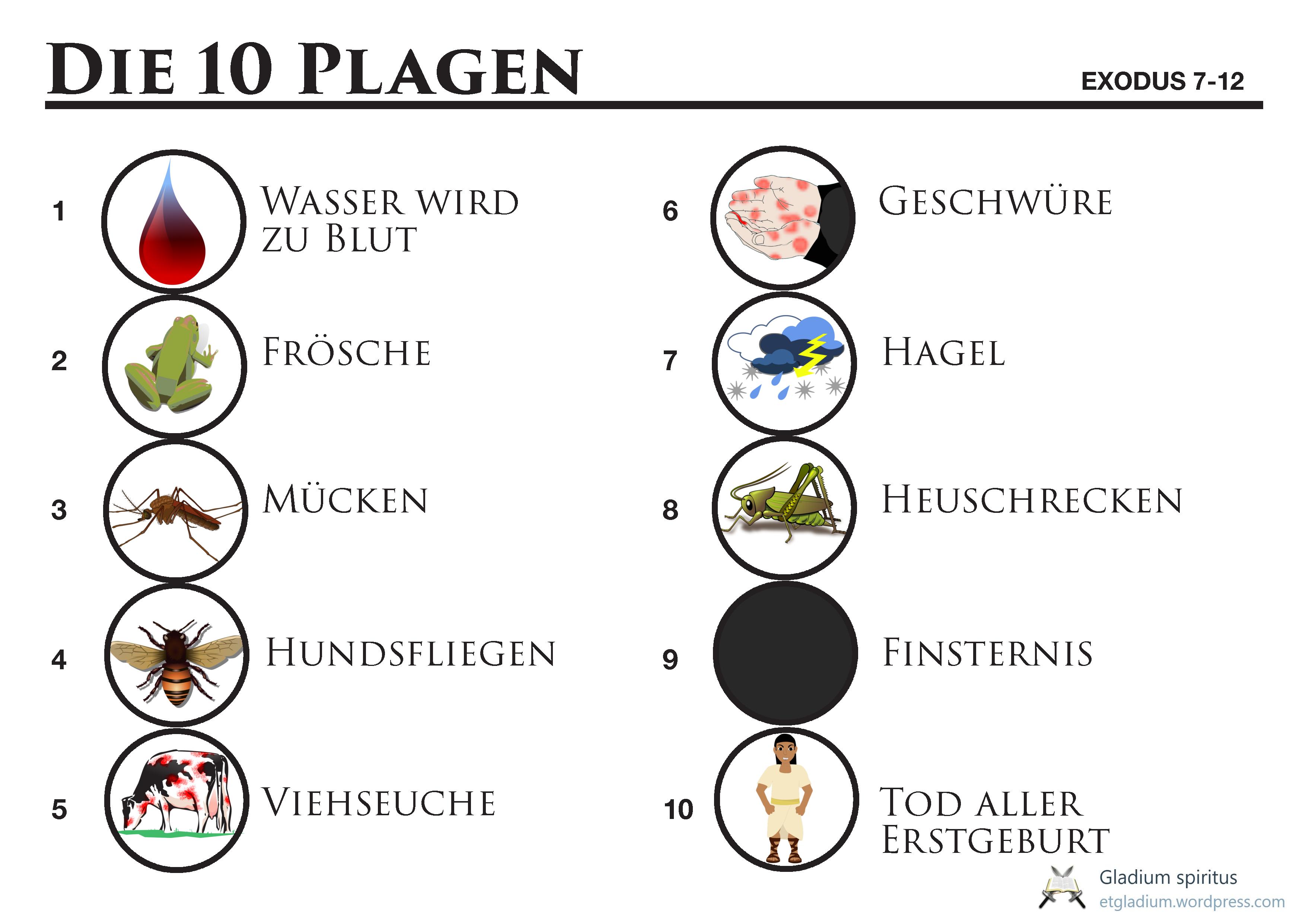 10 Plagen Bilder